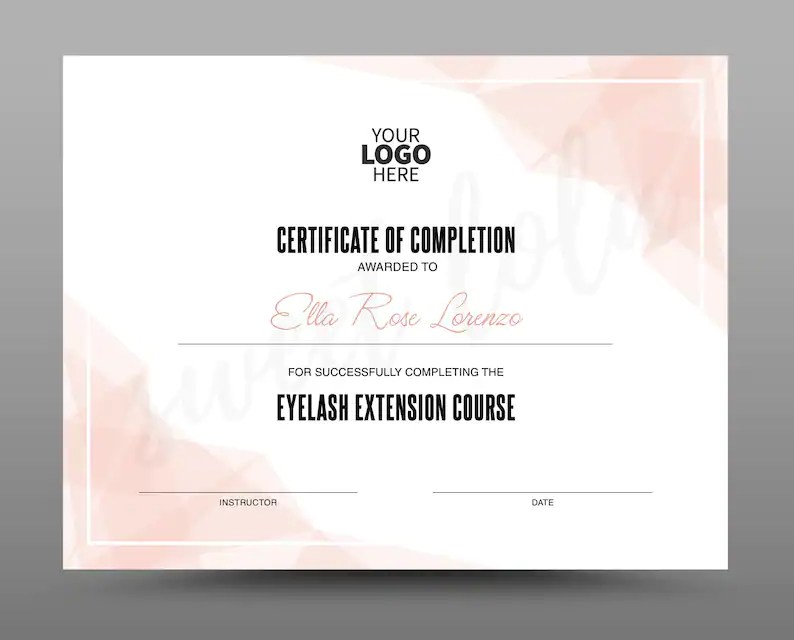 Certificate Template Instant Download Certificate of Etsy