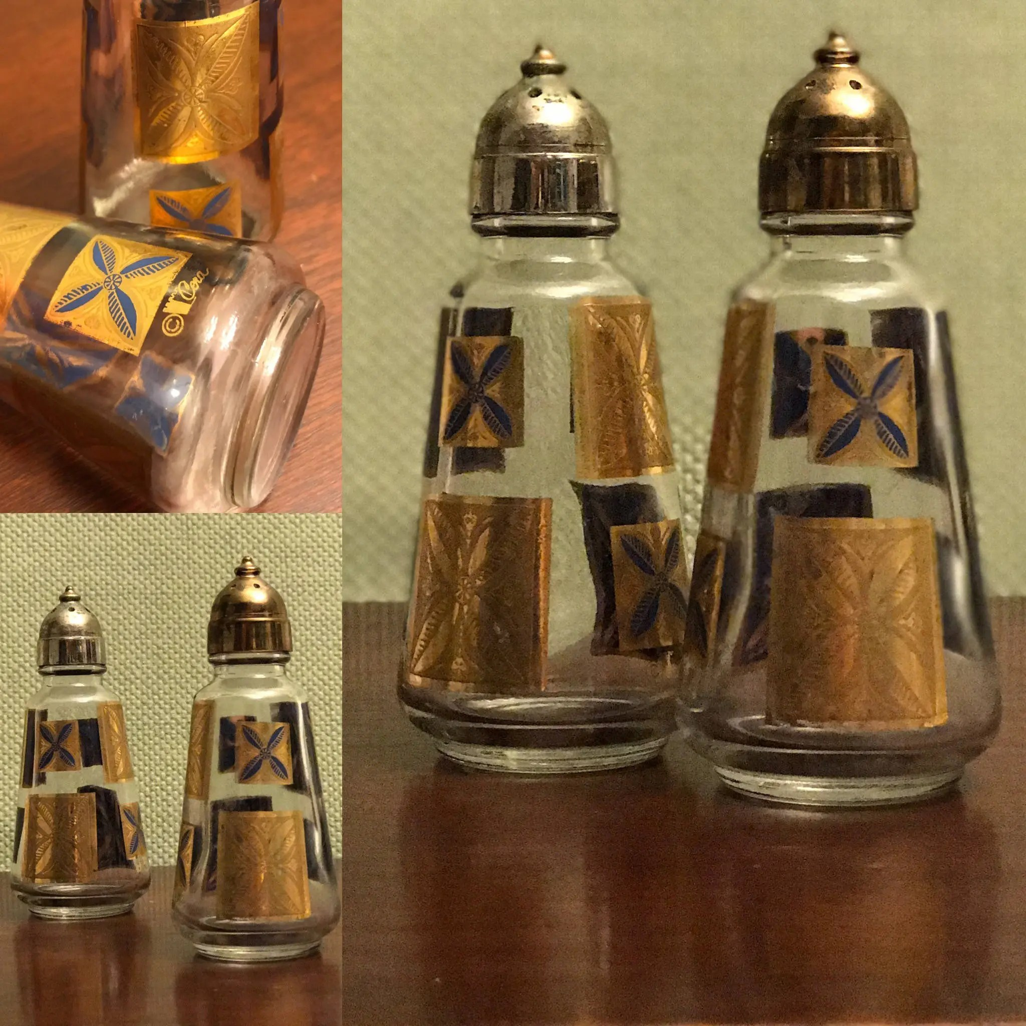 Modern Salt Pepper Shakers Mid Century Modern Cera Salt Pepper Shakers Rare Cera Salt Pepper
