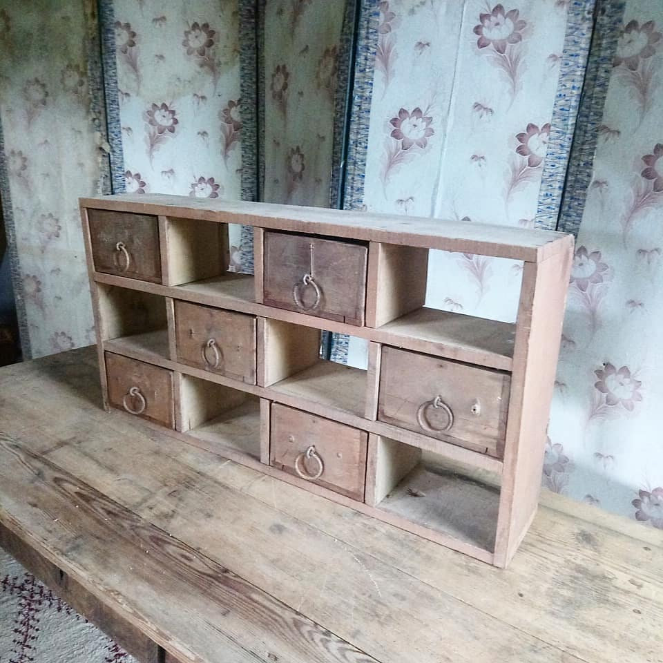 Shabby Chic Shop Antique French Industrial Chic Workshop Pigeonholes With