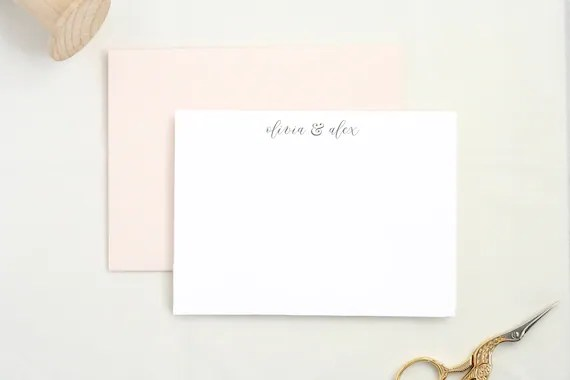 Gifts for the Newly Engaged Wedding Thank You Cards Blank Cards