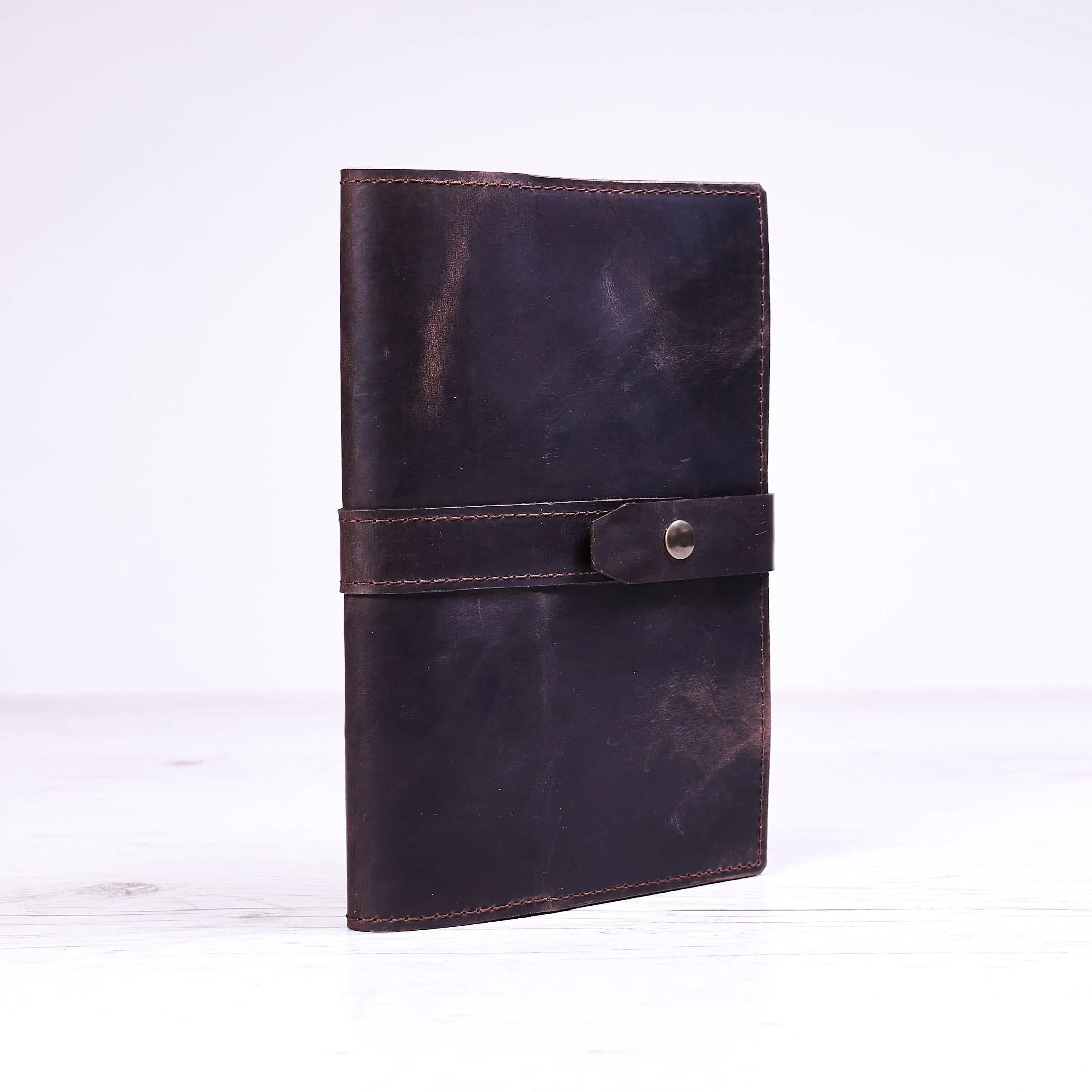 Moleskine A5 Dark Brown A5 Leather Journal Cover Notebook Cover Notebook