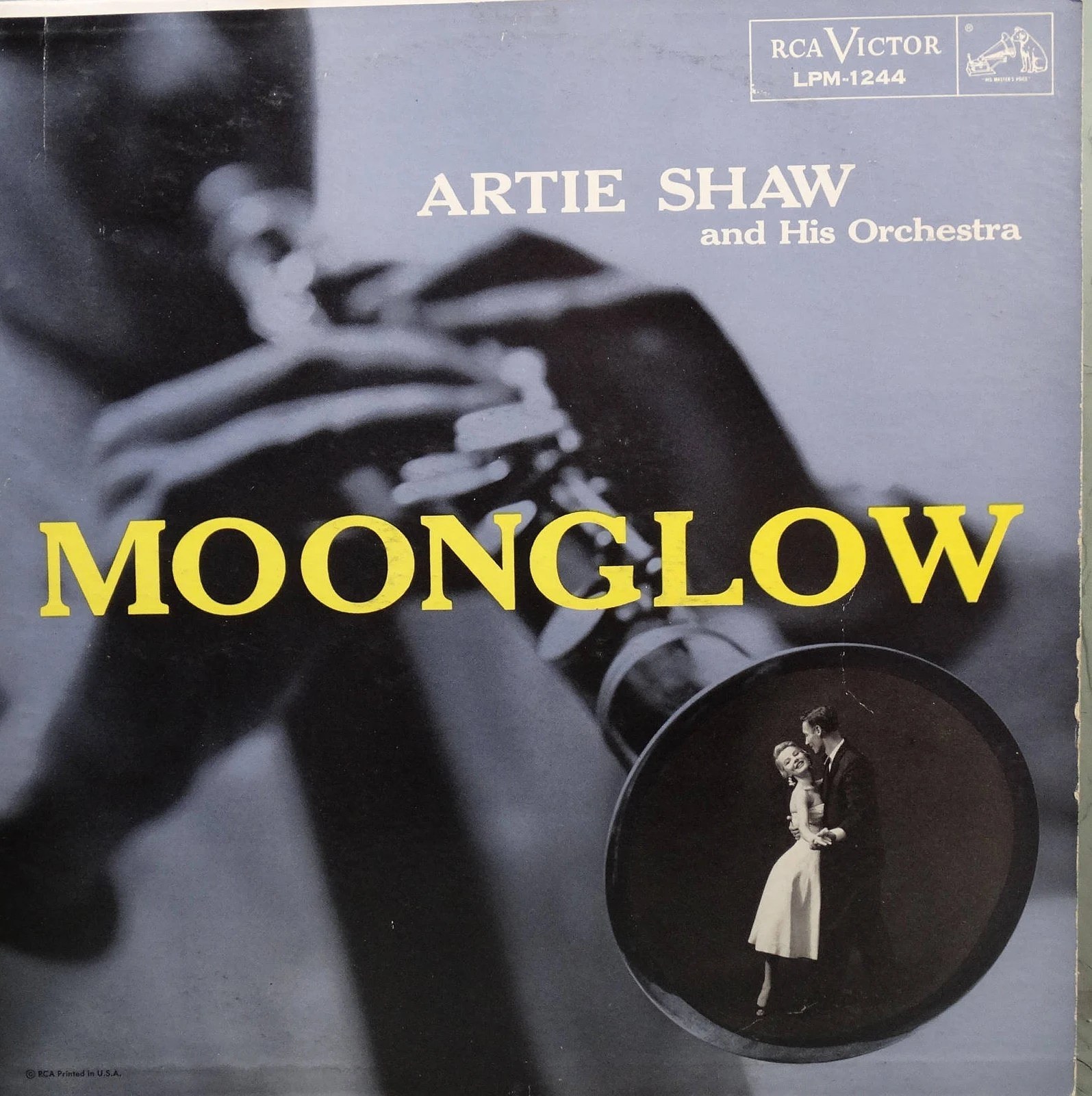 Artie Shaw Genre Artie Shaw And His Orchestra Moonglow 1956 Lp Album Vinyl Record Jazz Swing Big Band Music