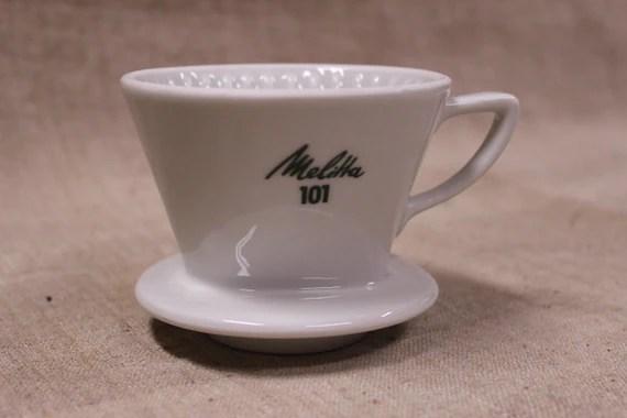 Make Us An Offer Melitta Coffee Filter Holder Ceramic Etsy