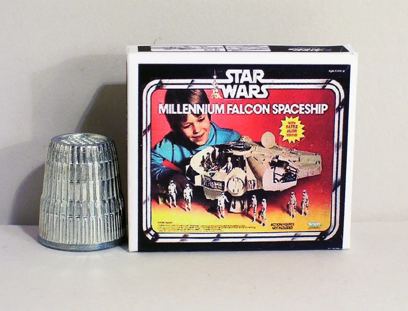 Star Wars House Items Star Wars Millennium Falcon Spaceship Box Dollhouse Miniature 1 12 Scale Dollhouse Accessory 1970s 1980s Dollhouse Boy Toy Box