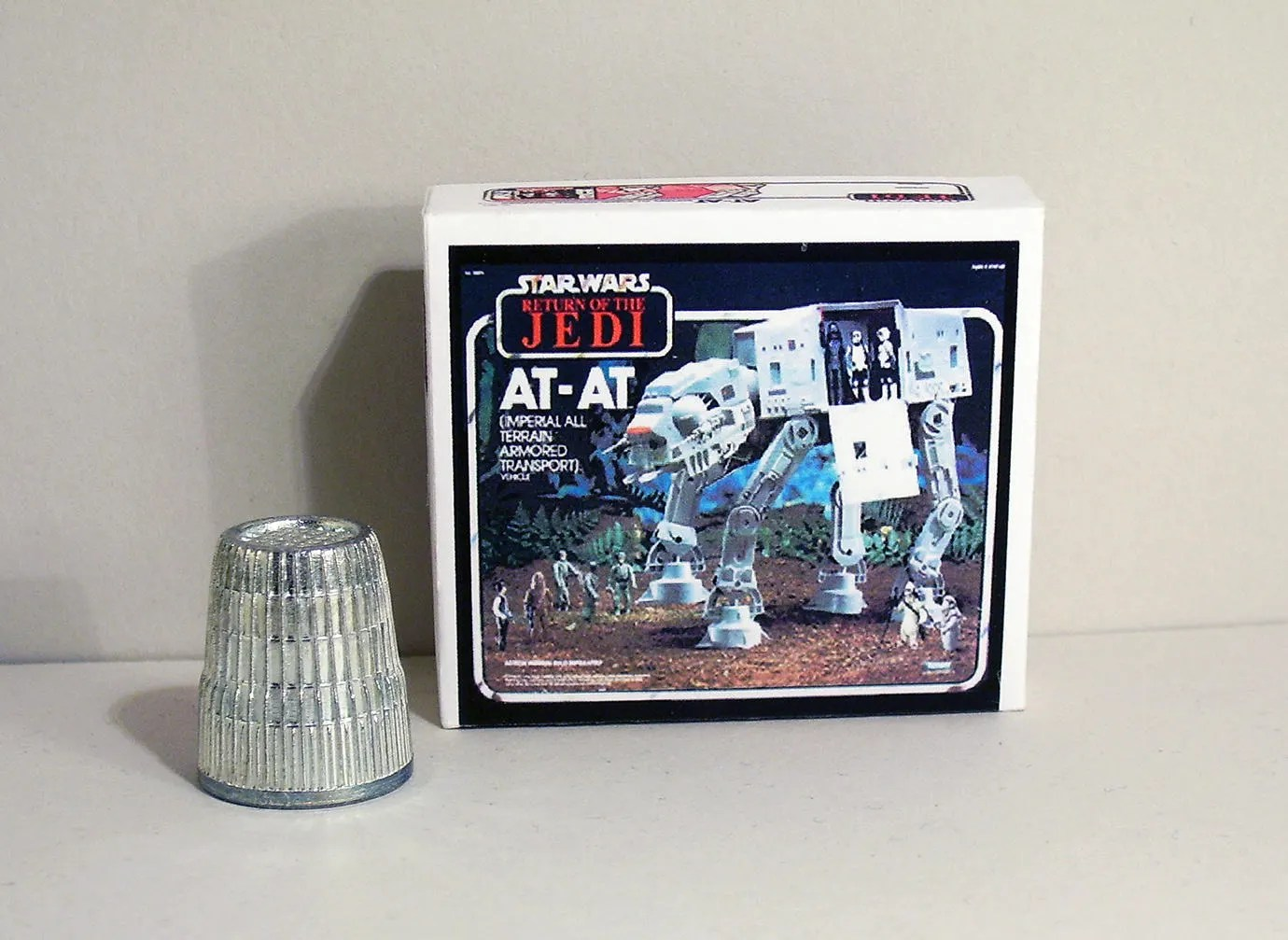 Star Wars House Items Star Wars At At Box Dollhouse Miniature 1 12 Scale Dollhouse Accessory 1970s 1980s Dollhouse Boy Toy Box Miniature Box Replica