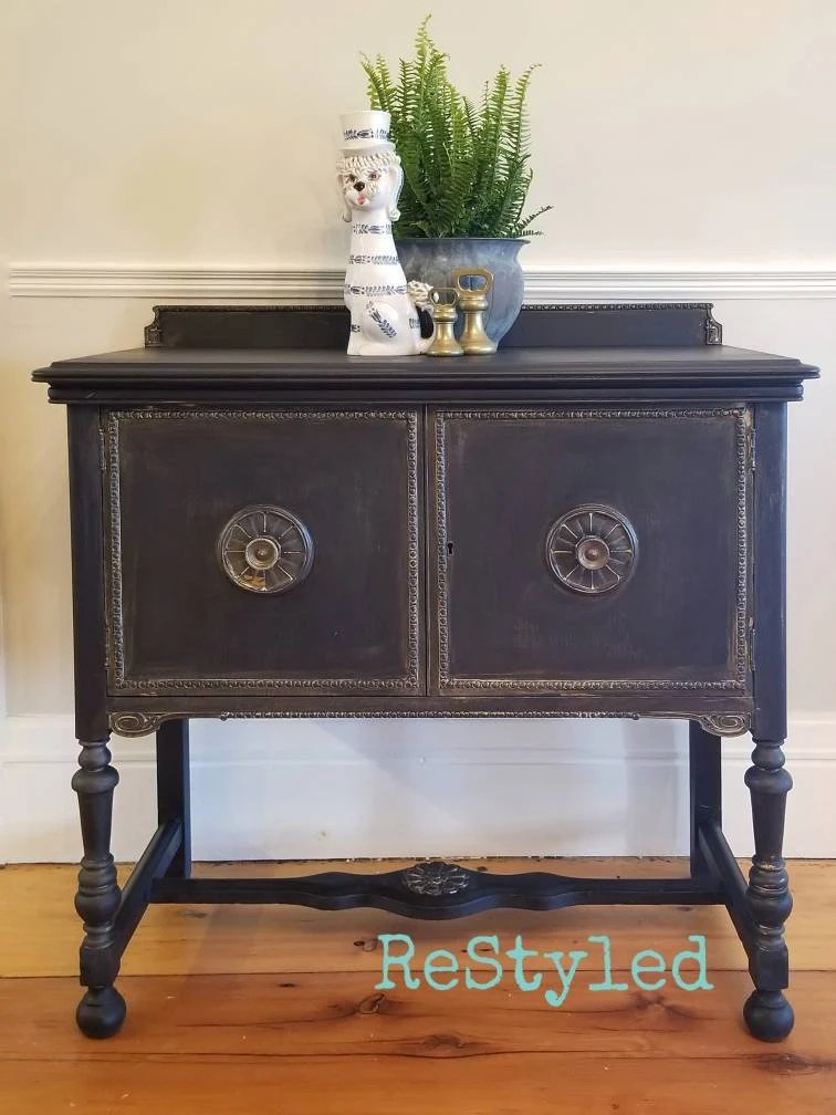 Buffet Sideboard Fantastic Furniture Sold Petite Server Buffet Sideboard Sink Vanity Shabby Dark Blue Black