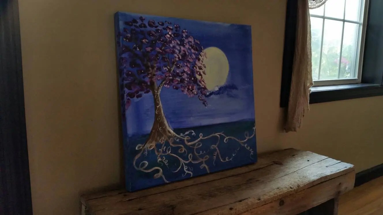 Art Wall Stunning Acrylic Energy Art Tree Painting Wall Art Wall Decor Tree