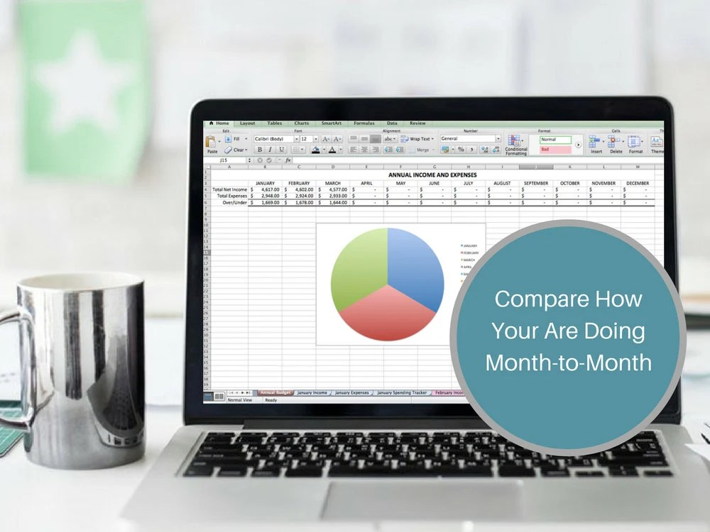 Excel Budget Tracker Personal Expense Tracker Business Income Etsy