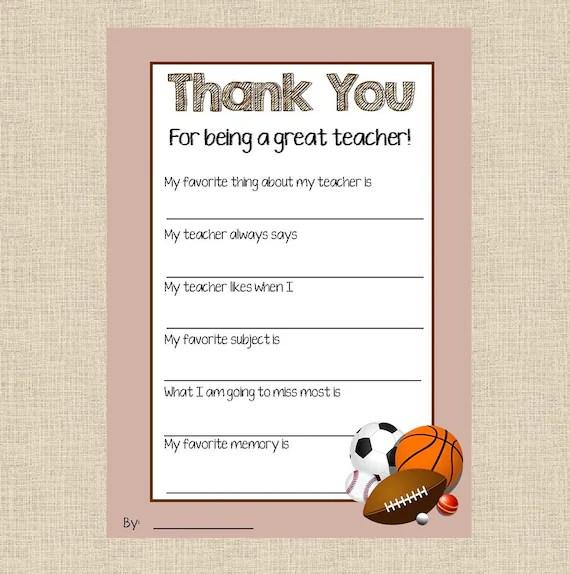 thank you card for a coach - Artij-plus