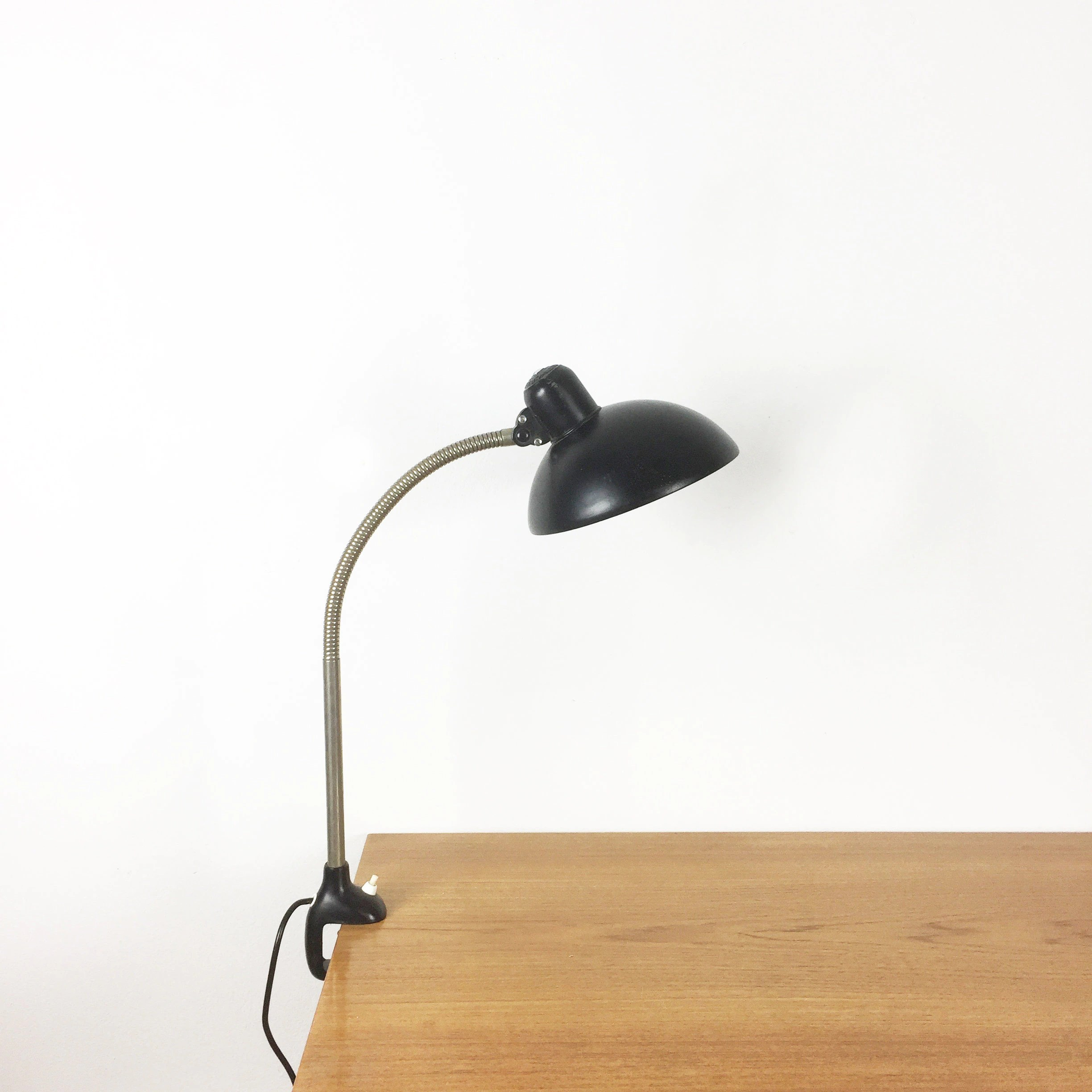 Kaiser Idell Lampe 1950s German Black Kaiser Idell Table Fixation Bauhaus Desk Light Lampe Christian Dell Danish Modern Midcentury Modern Eames Panton
