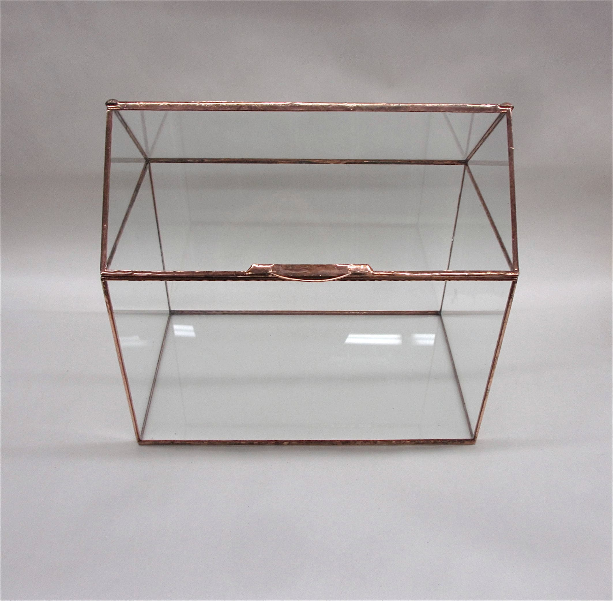 Doos Met Slot Our House Large Wedding Card Box With Slot Top Option Card Box Terrarium Display Case Glass Box