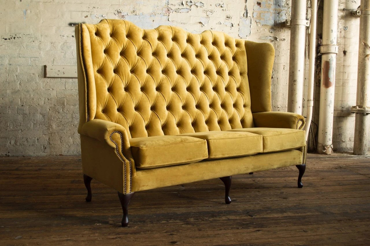 Chesterfield Sofa High Back | Types Of Chesterfield Sofas ...