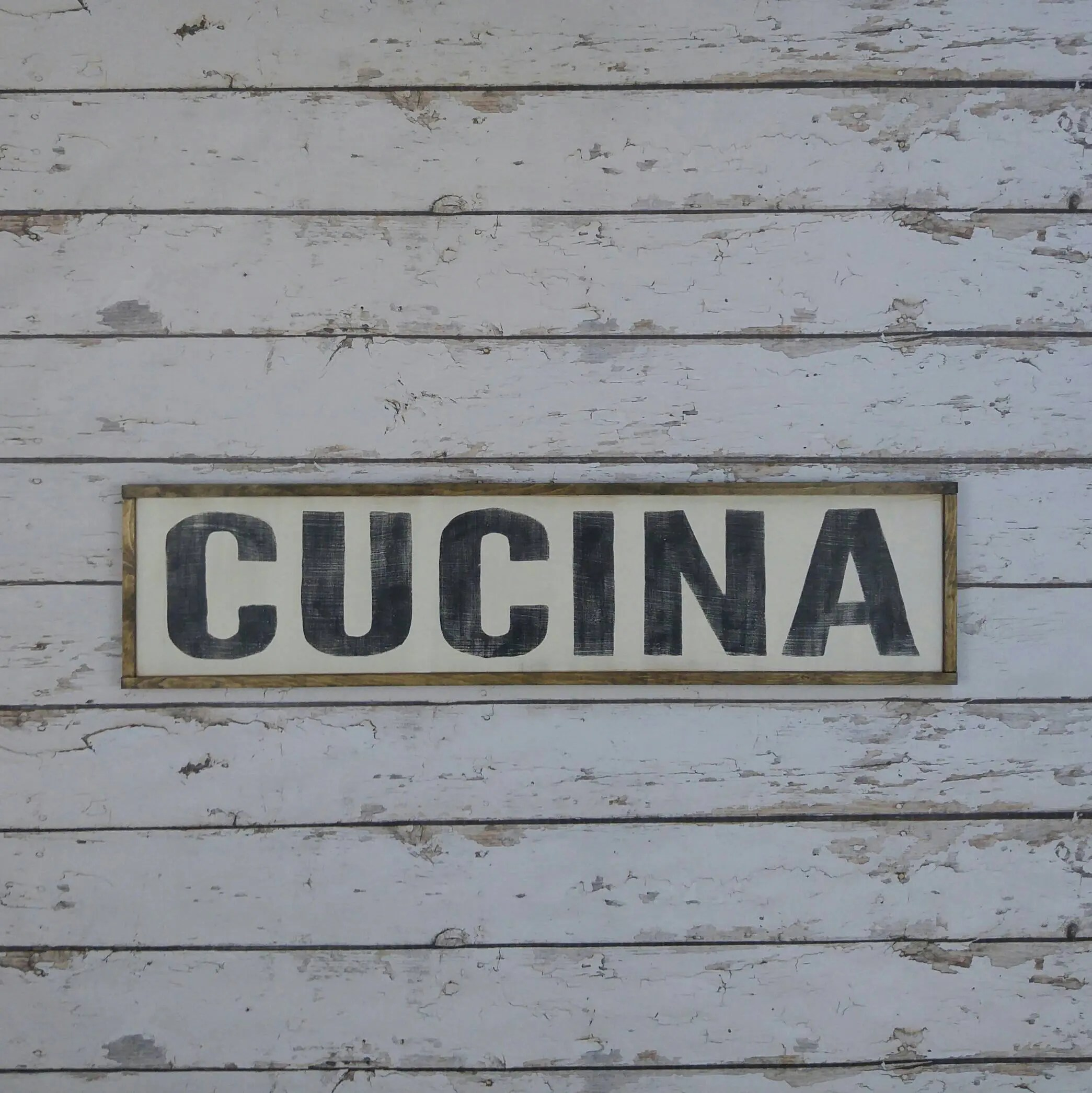 Cucina Kitchen Sign Italian Kitchen Sign Cucina Sign Italian Decor Italian Wood Sign Mangia Sign Famiglia Sign Custom Wood Sign Italian Sign