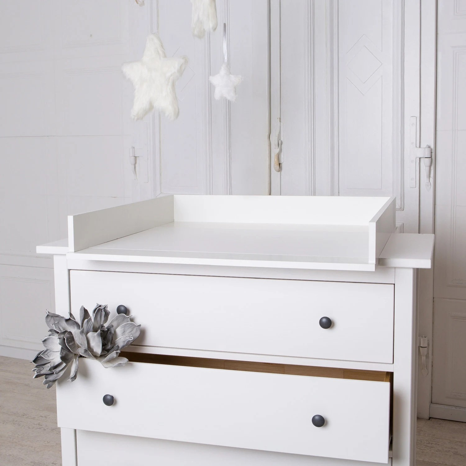 Changing Table Chest Of Drawers Puckdaddy Handmade Chest Of Drawers Changing Table Top For Ikea Hemnes Dresser In White New