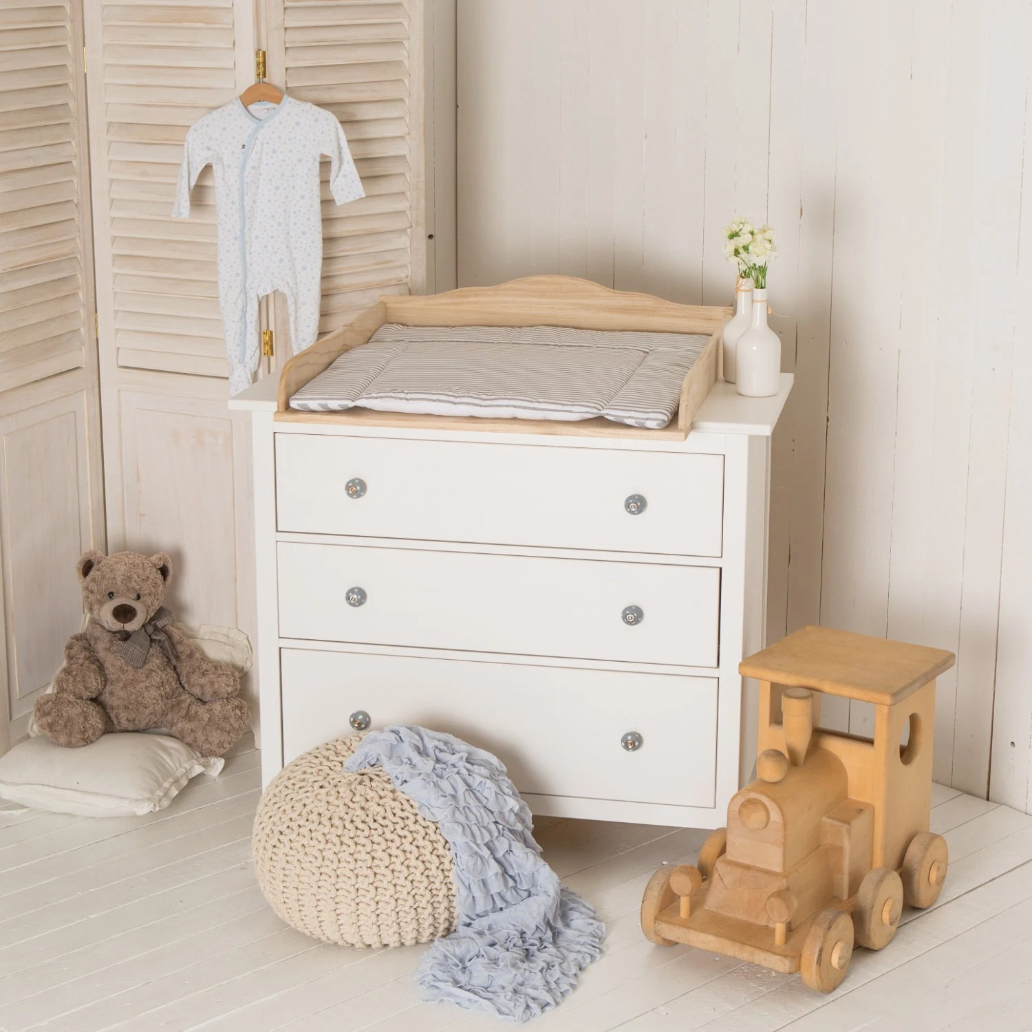 Ikea Malm Kommode Youtube Puckdaddy Natural Wood Changing Unit Table Top Cot Top For Ikea Malm Chest Of Drawers Without Dresser