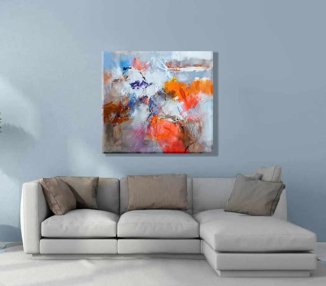 Abstract Art Prints On Canvas Abstract Art Print Canvas Modern Art Abstract Painting Original Abstract Acrylic Painting Wall Art Canvas Abstract Art Canvas Acrylic