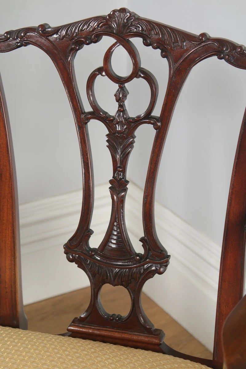 Sofa Vintage A Vendre Reproduction Chippendale Style Carved Mahogany Couch Sofa Settee Circa 1970