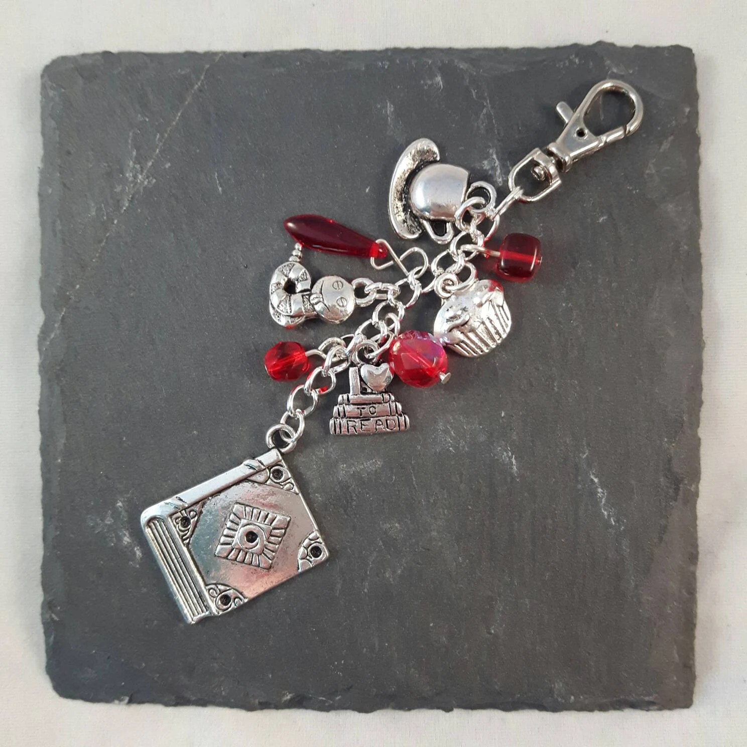Book Lover Gift Book Lover Gift Bag Charm Reading Gift Book Gift Etsy