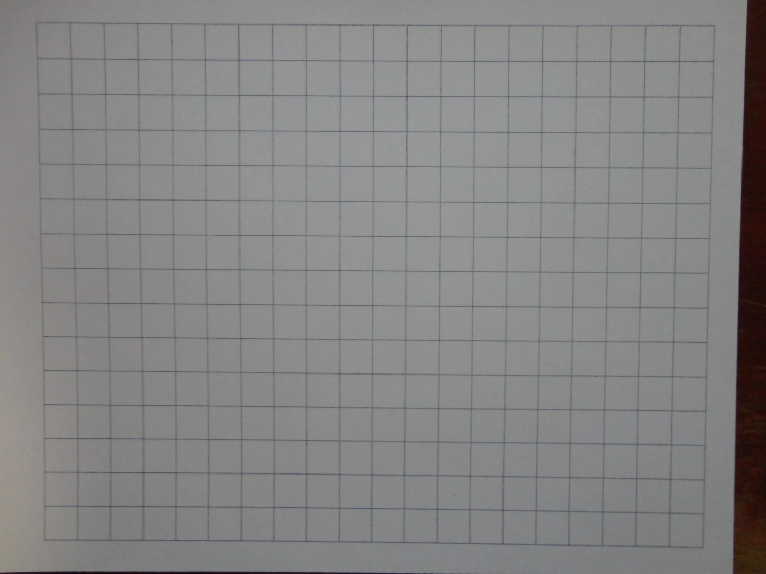 Large square grid graph paper from TheGiddyGrid on Etsy Studio - large square graph paper