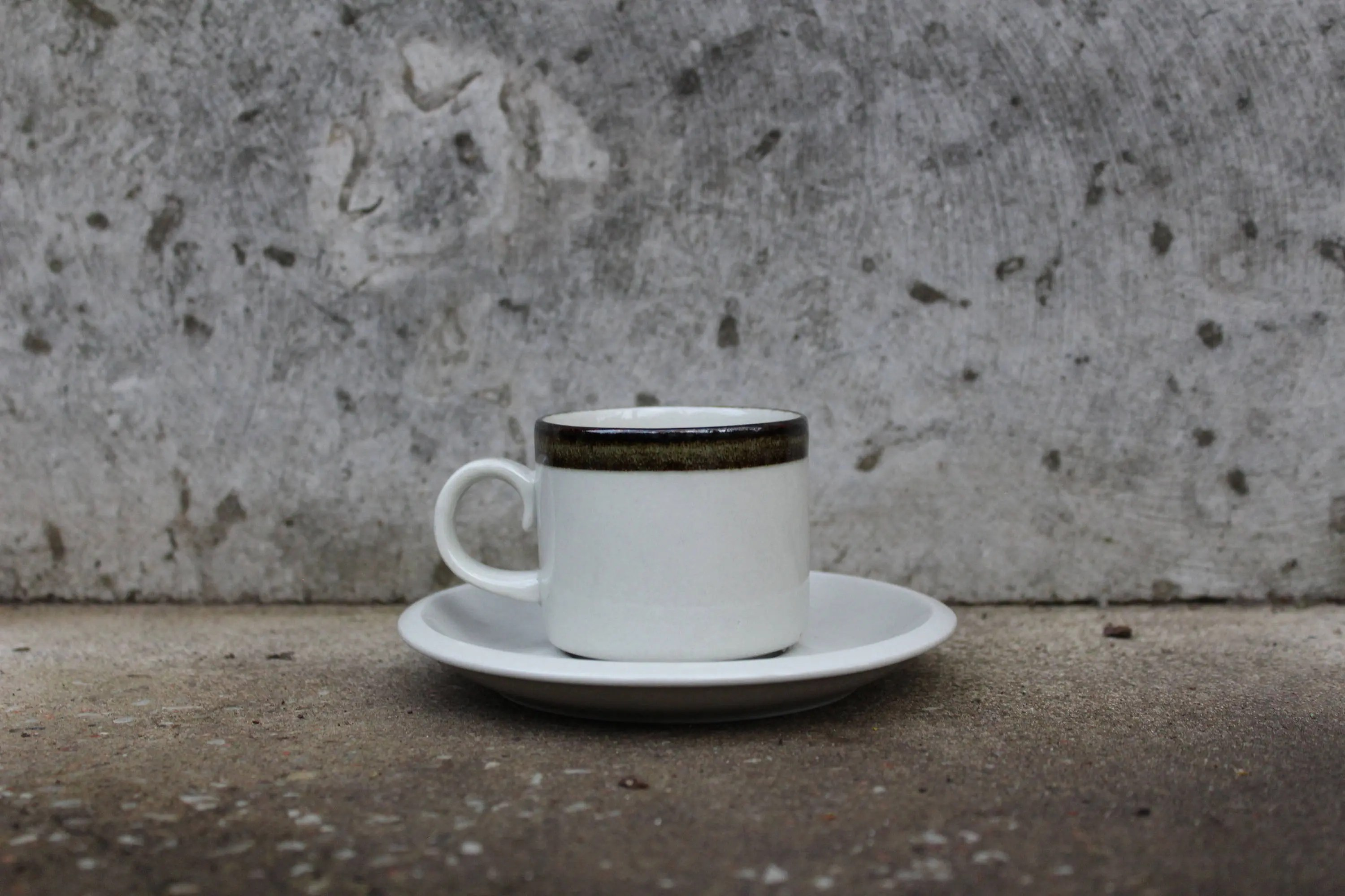 Small Coffee Cups And Saucers Arabia Of Finland Karelia Small Coffee Cup And Saucer Scandinavian Design