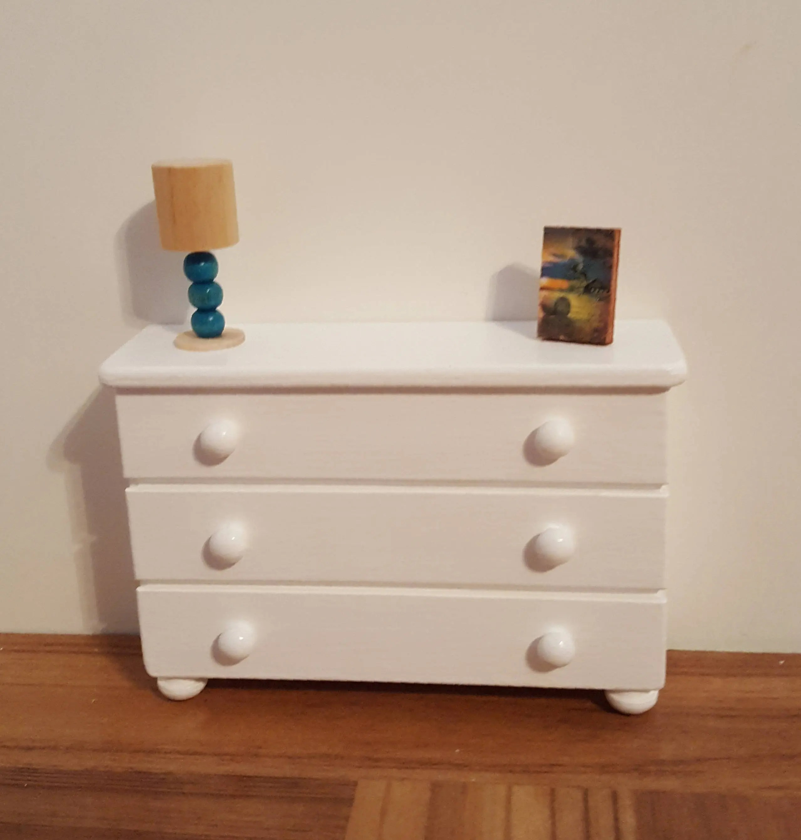 Table Bureau Bureau Or Side Table For Playscale Dolls 1 6 Scale Furniture 1 6 Scale Bureau 1 6 Scale Table Barbie Size Wooden Doll Furniture
