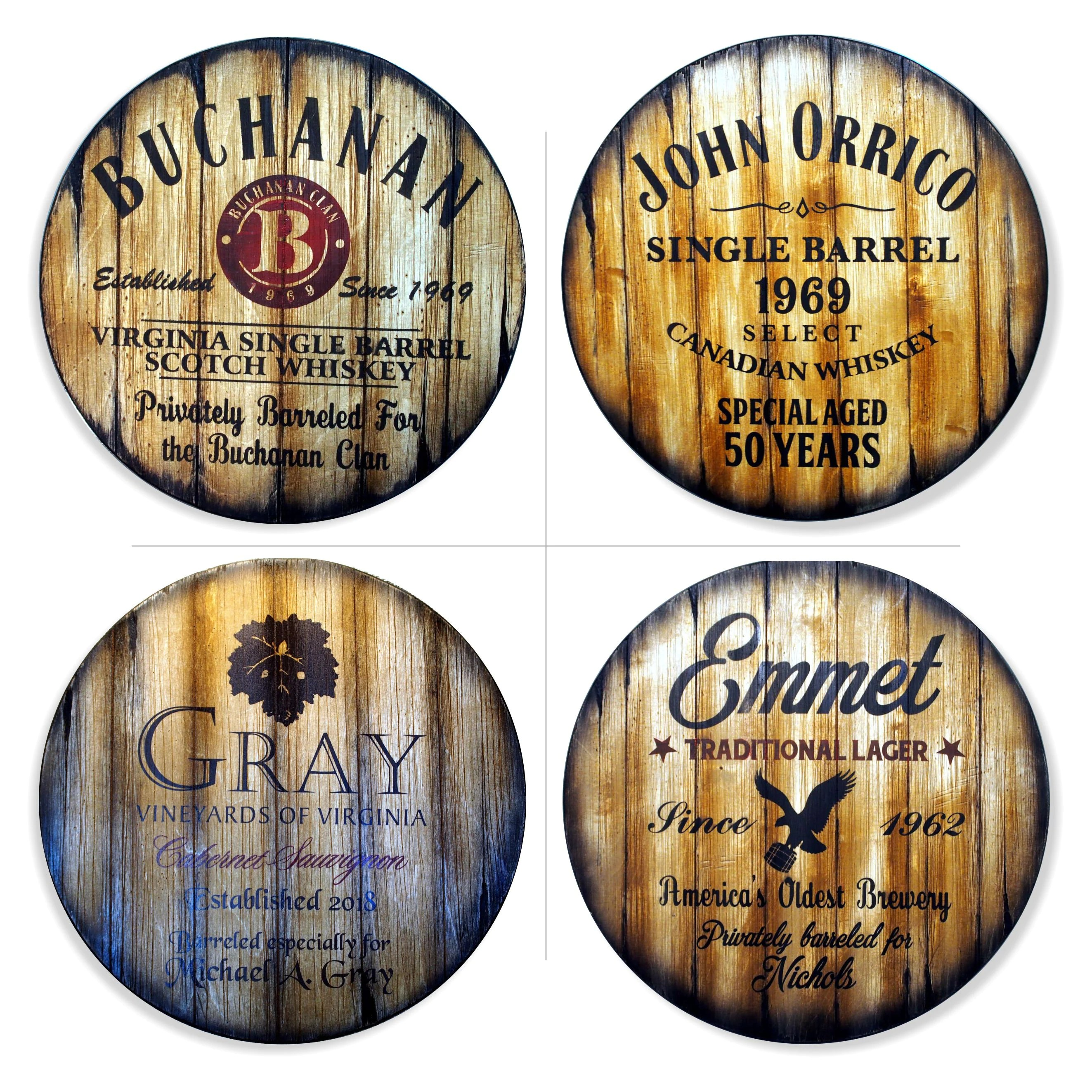 Round Table Tops Personalized Round Table Top 24 D Hand Painted Theme On