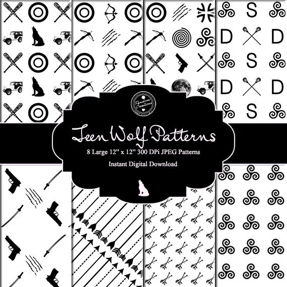 Teen Wolf Patterns