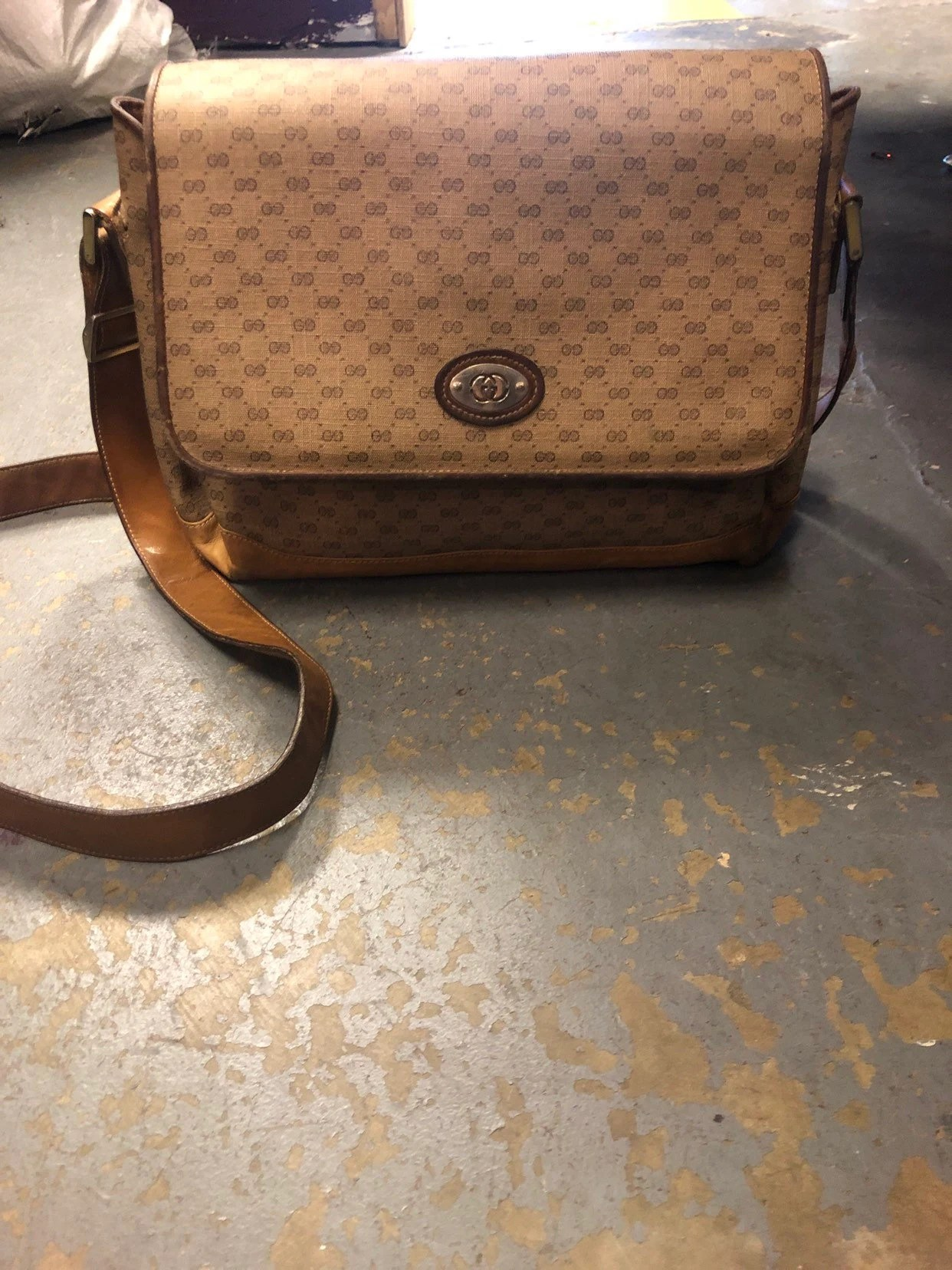 Etsy Vintage Gucci Authentic Gorgeous Vintage Gucci Crossbody Bag