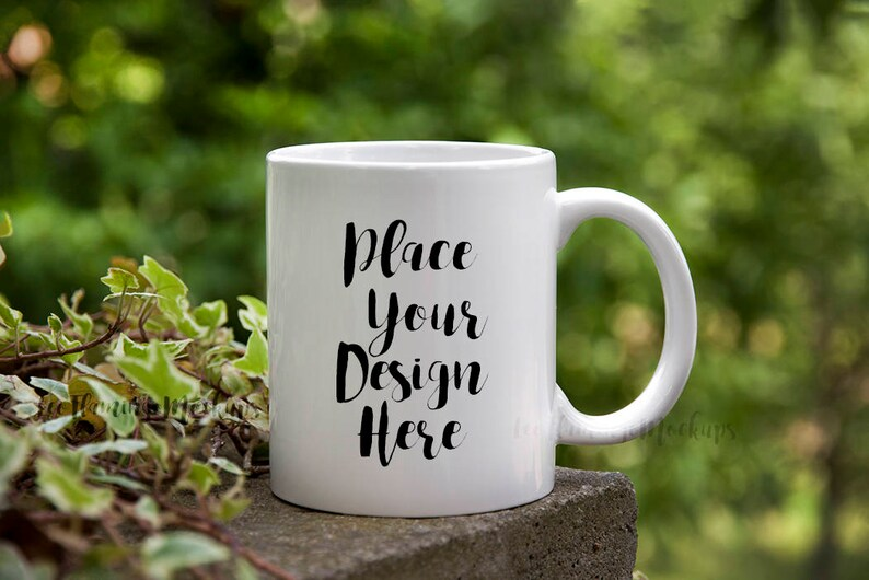 Mug Mock up Coffee Cup Mockup Mug Template Blank Empty Mug Etsy