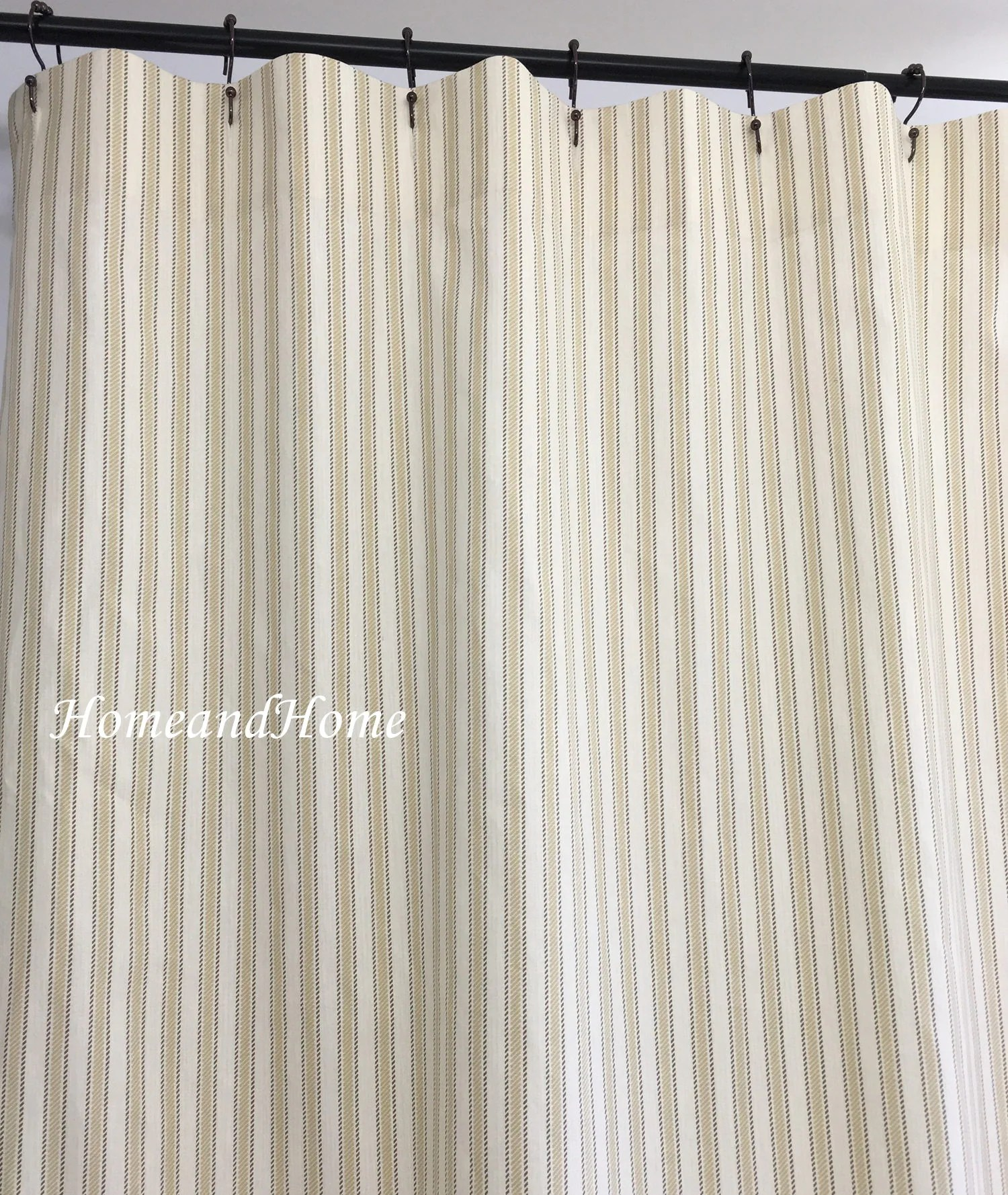 Extra Long Shower Curtain Australia Stripe Shower Curtain Shower Curtains Fabric Shower