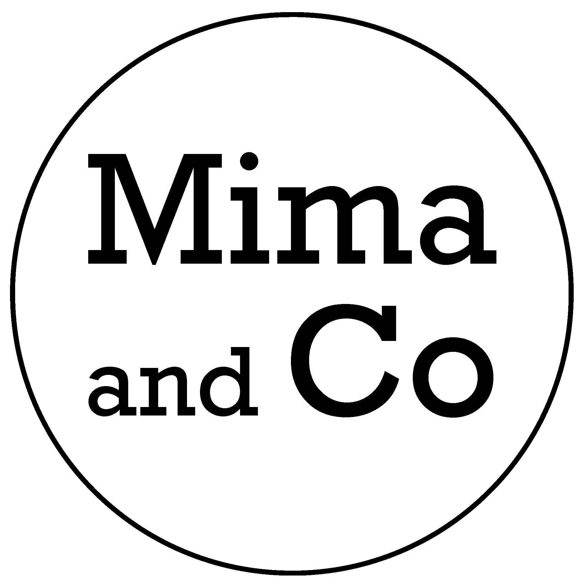 Mima Name Mima And Co By Mimaandco On Etsy
