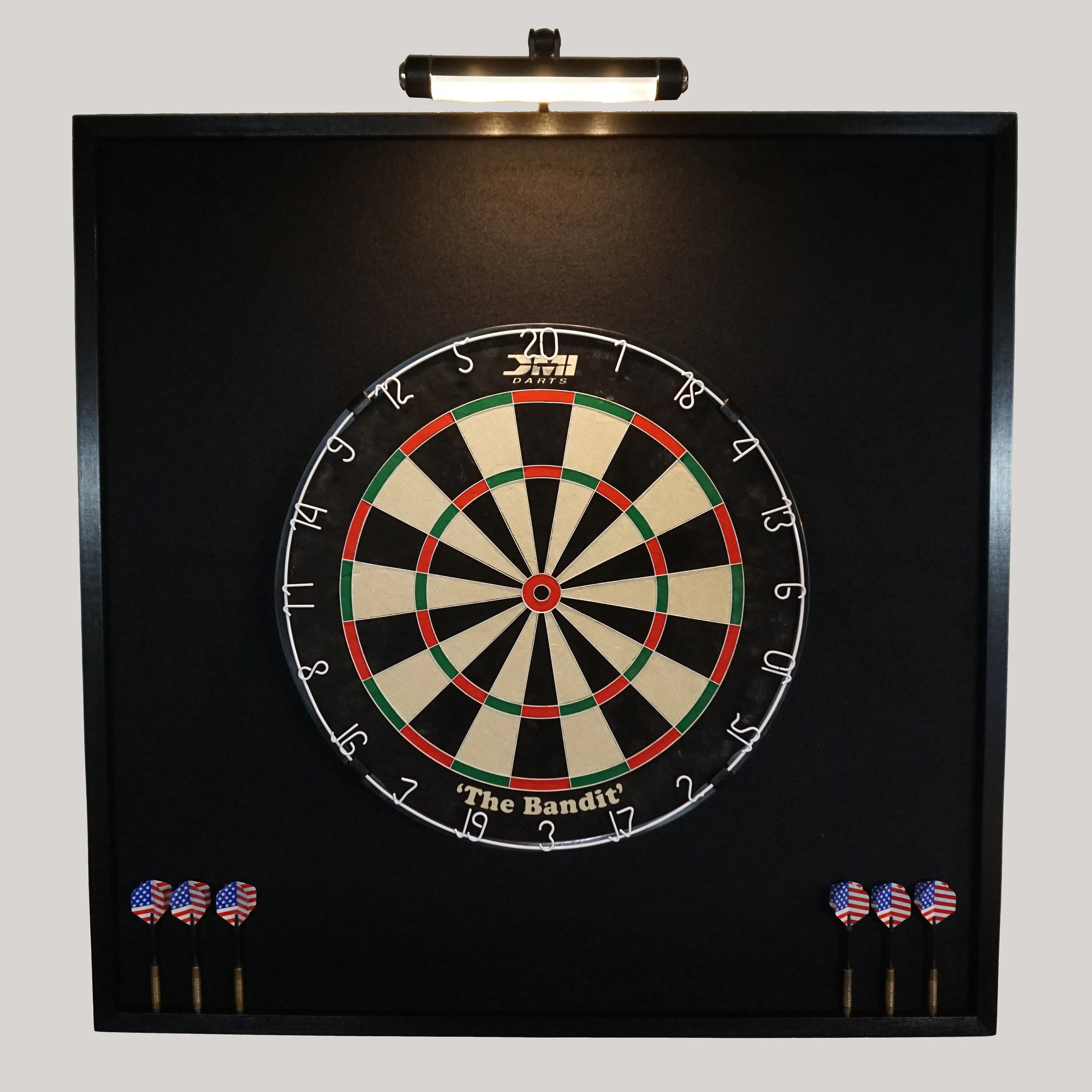 Schrankrückwand Material Custom Led Lighted Dartboard Cabinets Dart Von Jaysprojects