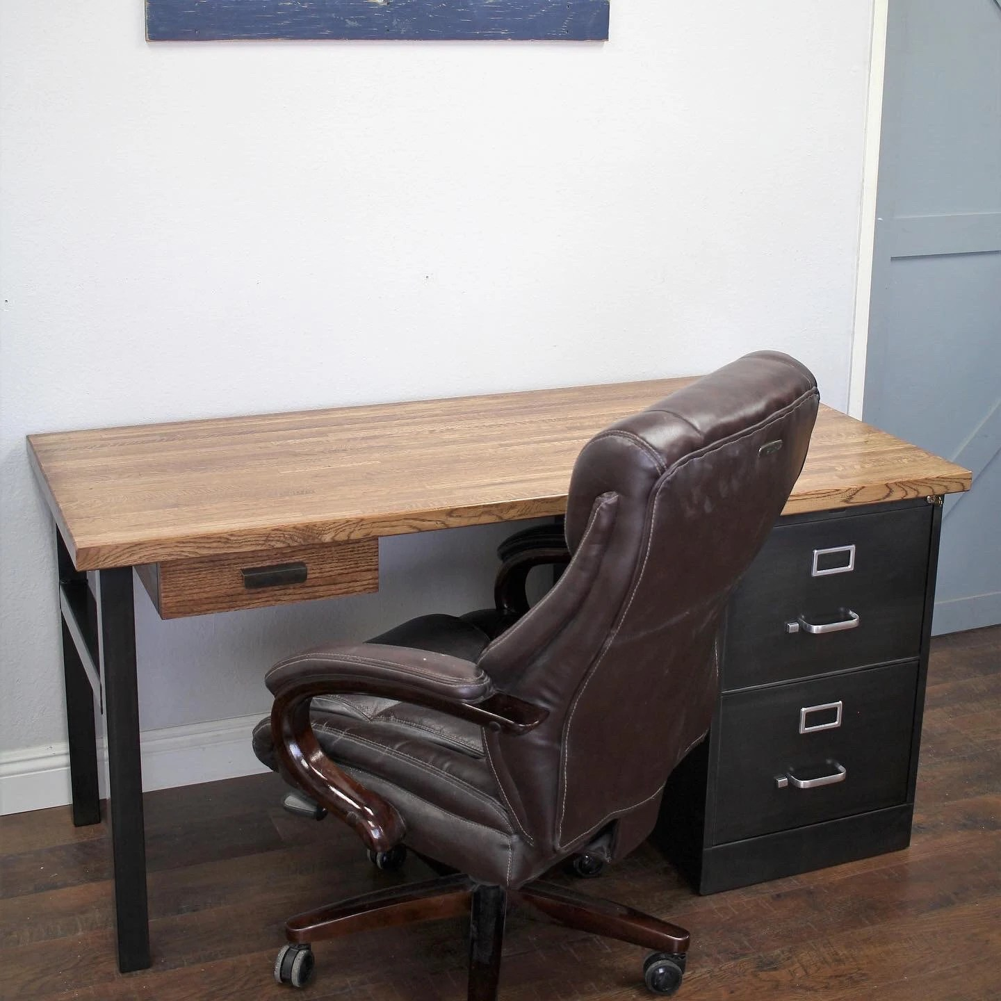 Made To Order Custom Home Office Furniture By Therusticforest