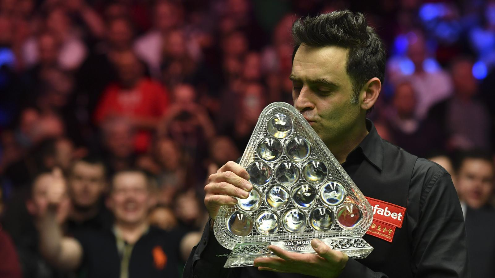 Master 2016 Ronnie O Sullivan Becomes Snooker S Greatest Master Of All Time