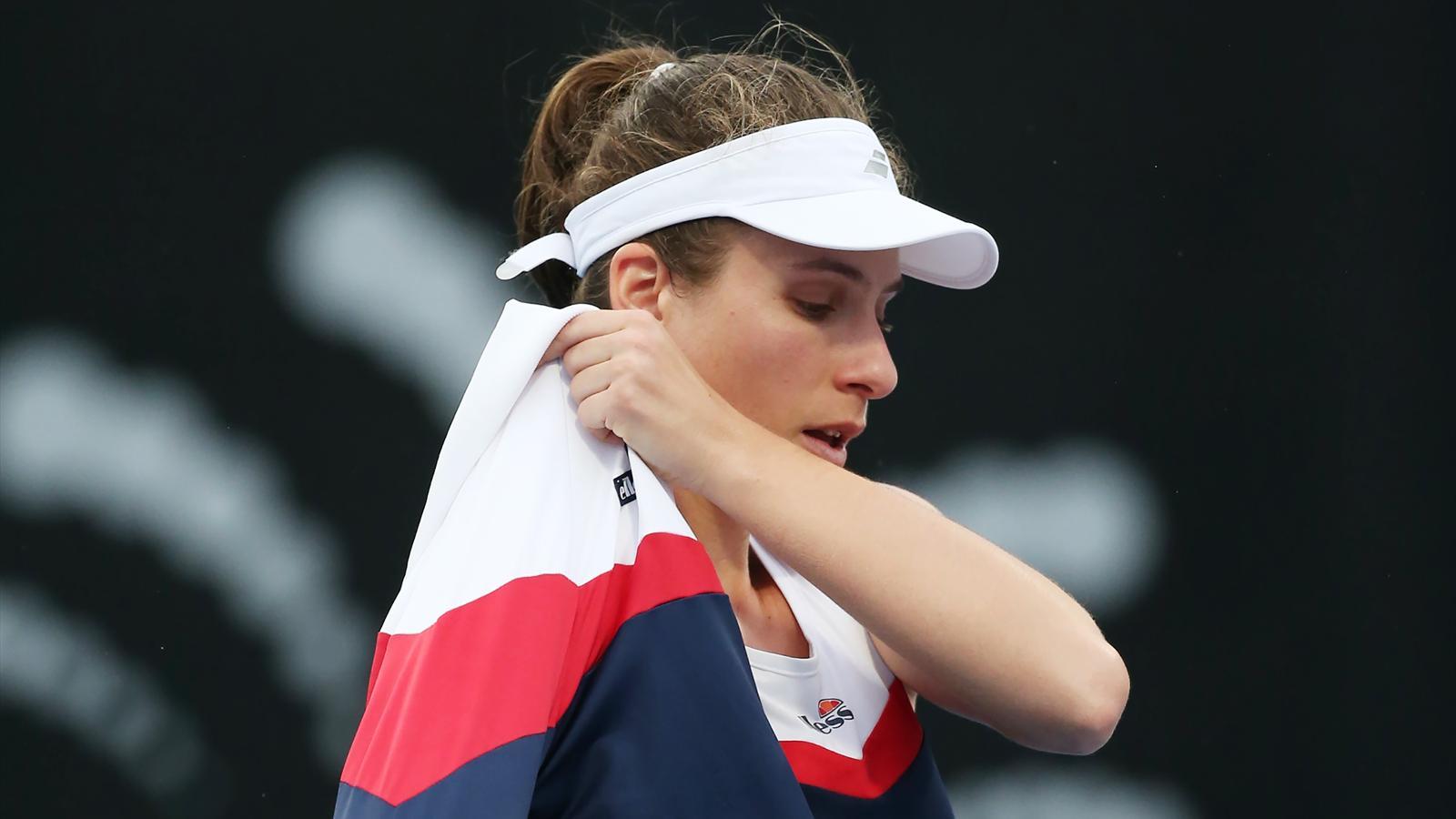 Tennis News Johanna Konta Suffers Neck Injury Just Week