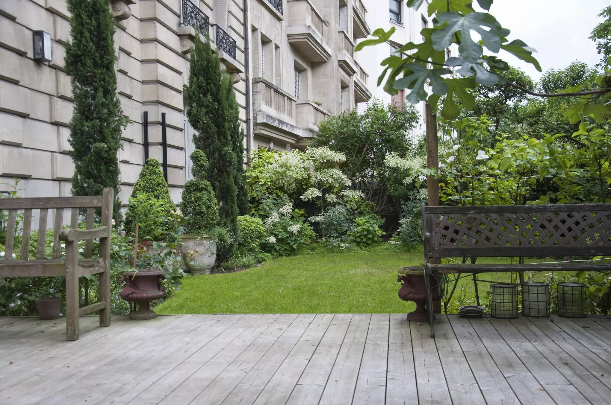 Idee Jardin Petite Surface | Mur Végétal Jardin Vertical Les ...