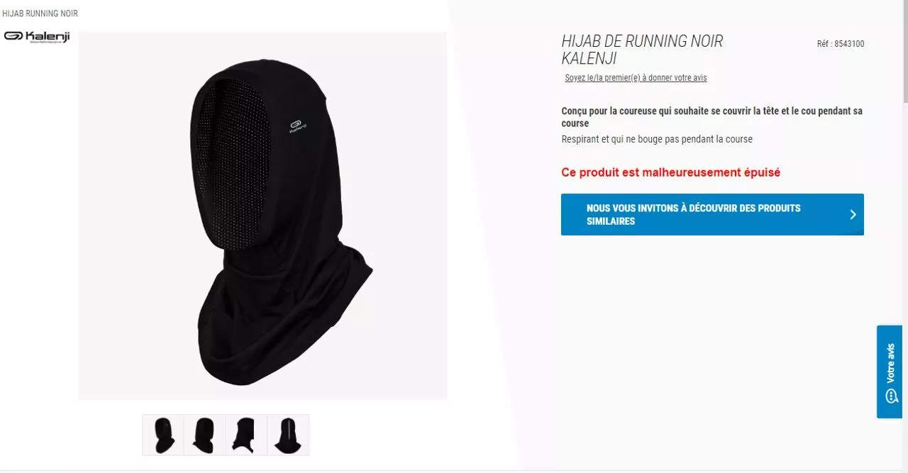 Tapis De Course Chez Decathlon Sous Pression Decathlon Renonce à Commercialiser Son Hijab De Running En France