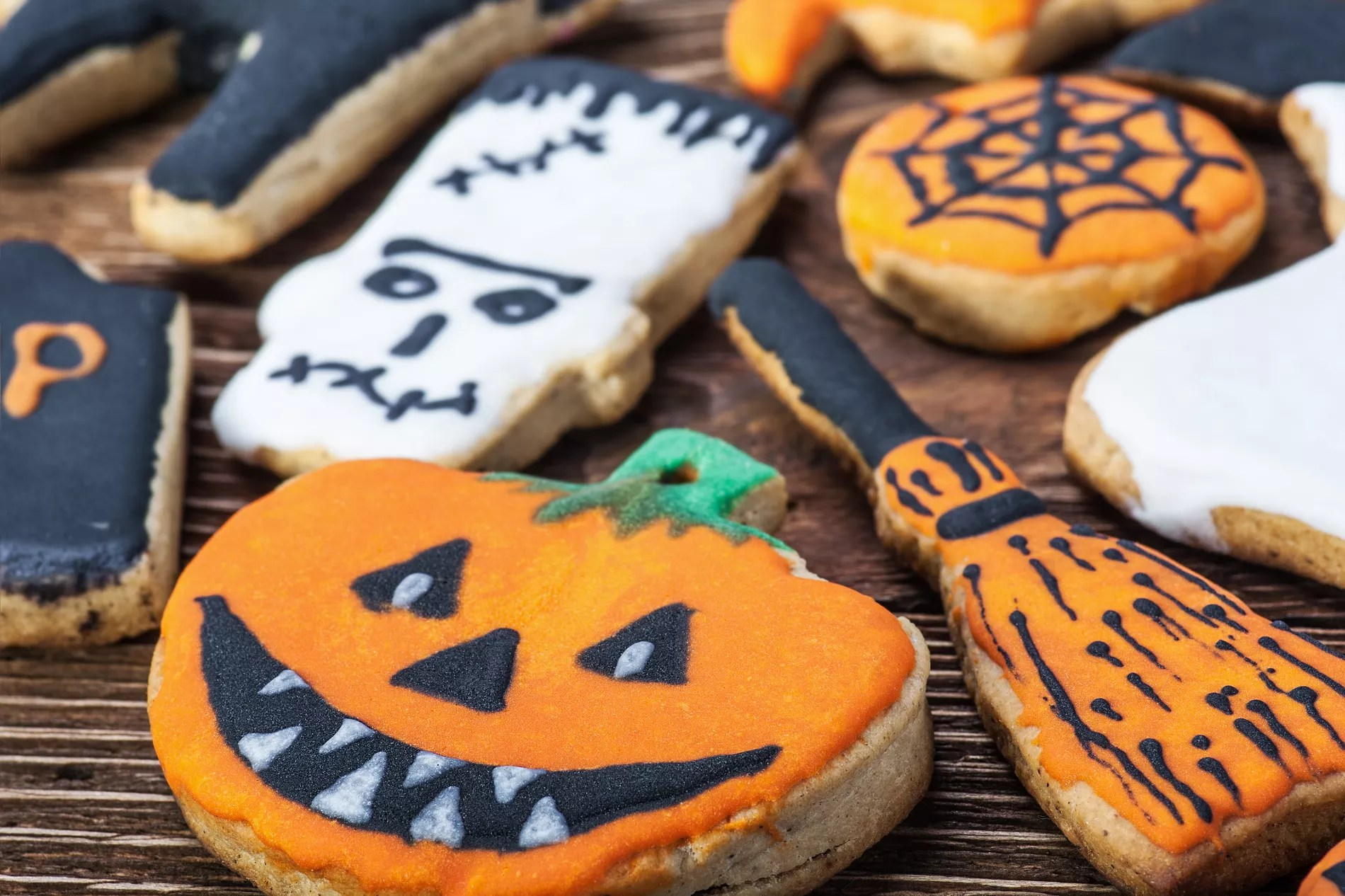 Recettes Faciles Pour Halloween Biscuits D Halloween
