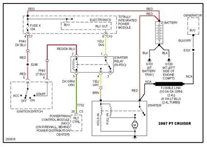 2007 pt cruiser alt wiring diagram