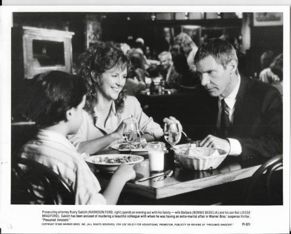 8x10 Hollywood movie pic for Presumed Innocent with Harrison Ford #5 - movie presumed innocent