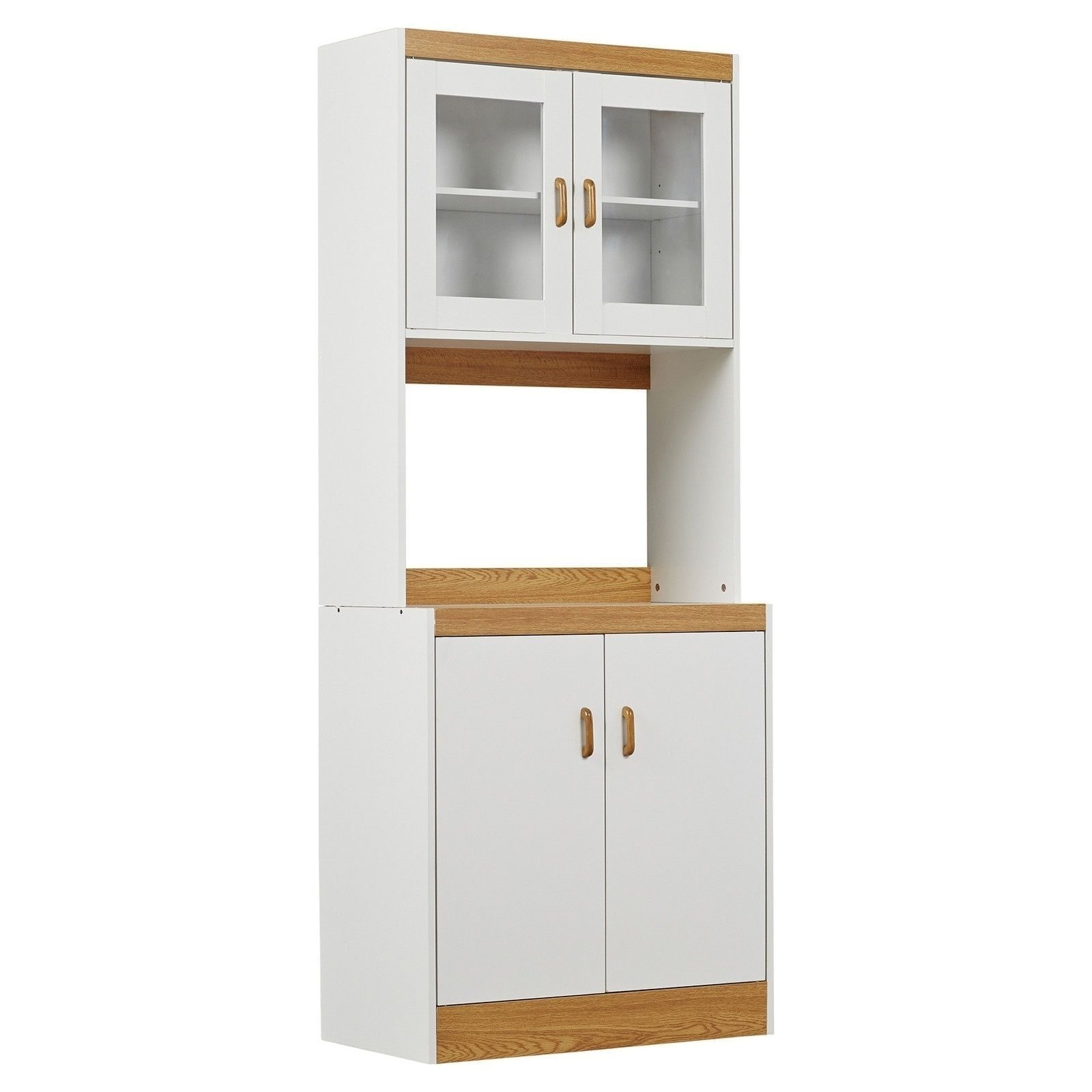 Utility Kitchen Cabinet New Tall Kitchen Microwave Stand White Utility Cabinet
