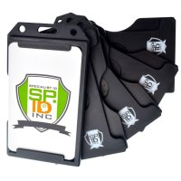 5 Pack - Specialist ID Multiple Card Badge Holder ...