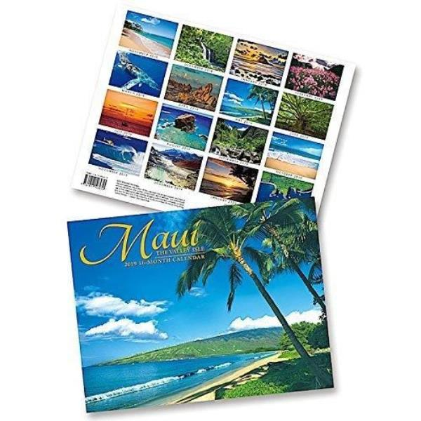 Maui the Valley Isle, 2019 16 Month Trade Calendar, November 2018