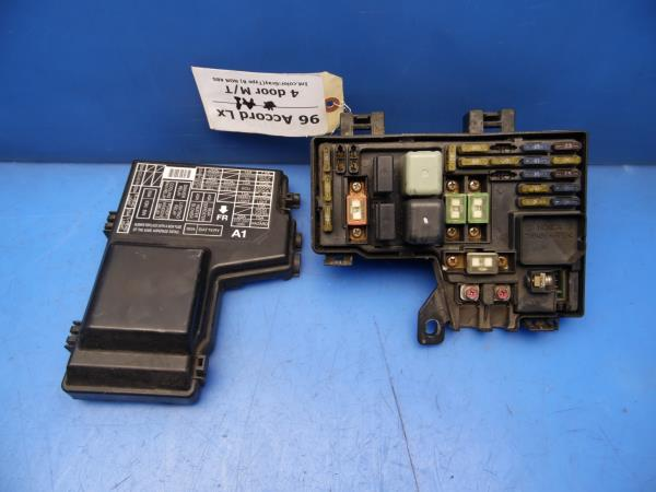 96-97 Accord OEM under hood fuse box w/ fuses  relays STOCK factory