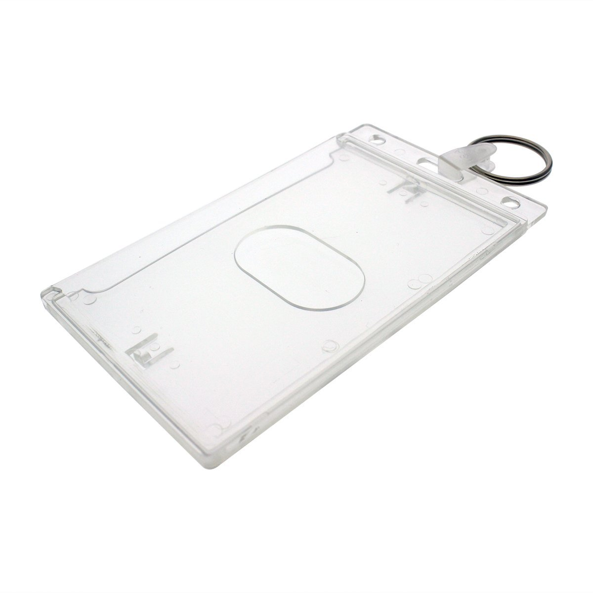Fuel Card Holder Key Chain Gas Card Key Ring Id