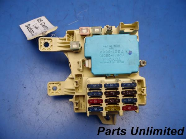 Fuse Box 1996 Toyota Camry Wiring Diagram