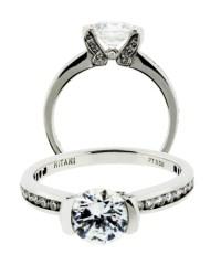 Ritani 1RZ2007ARP 32ct Diamond Engagement Ring in Platinum ...