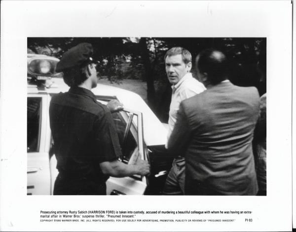 8x10 Hollywood movie pic for Presumed Innocent with Harrison Ford #8