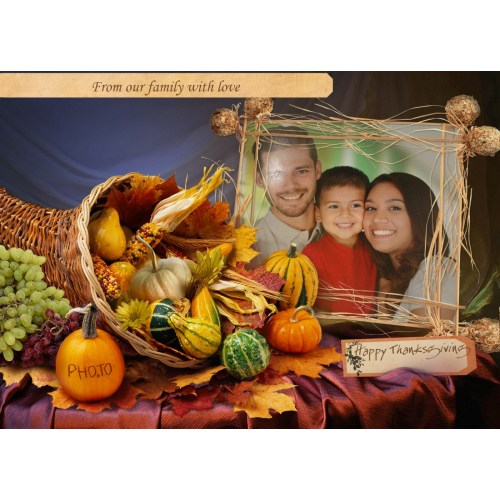 Medium Crop Of Happy Thanksgiving Family