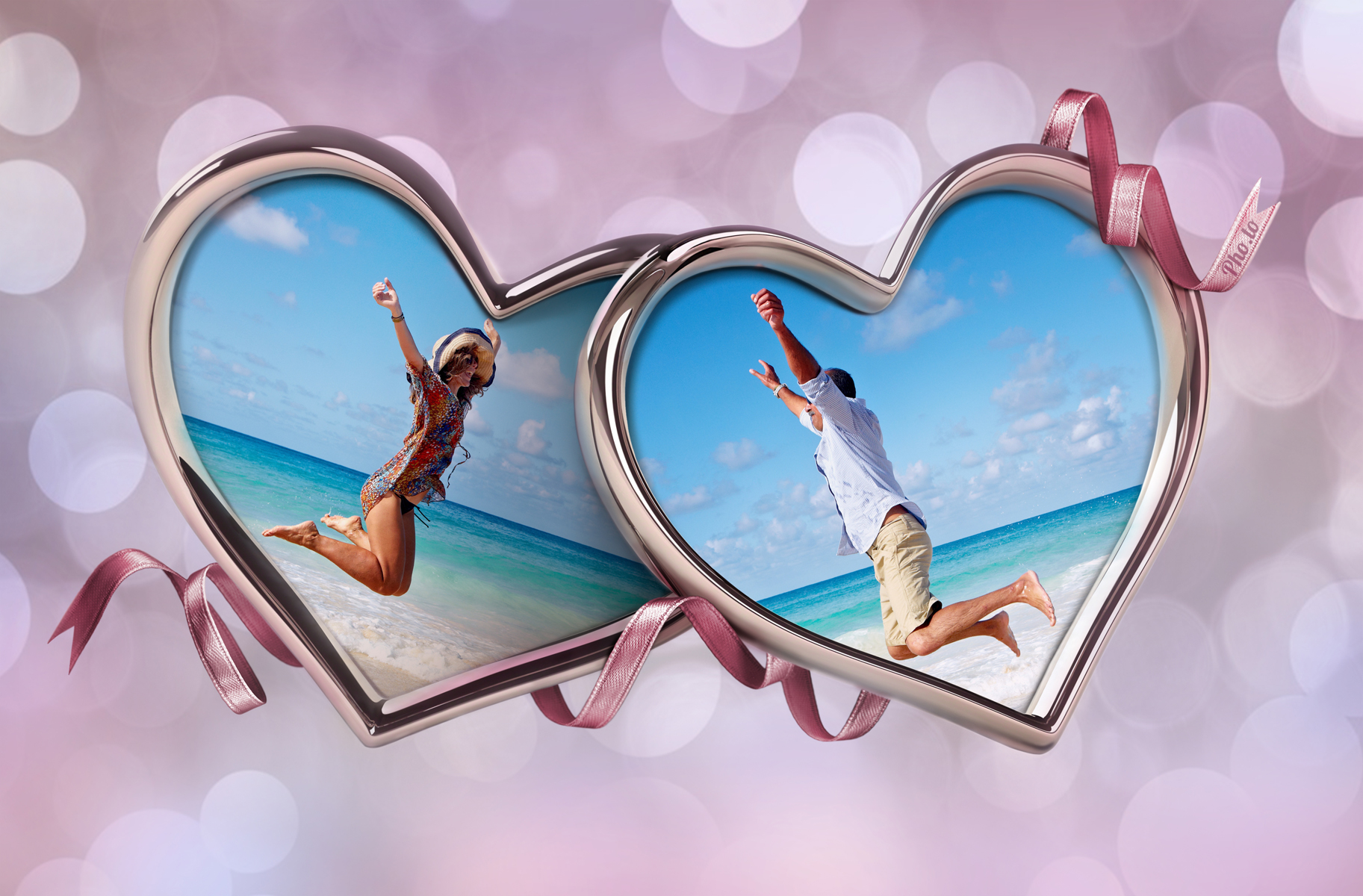 Online Picture Love Photo Frames For Two Photos Wallpaperall